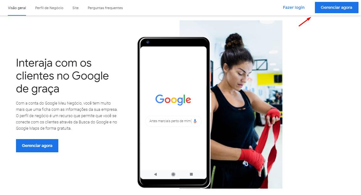 google maps para empresas