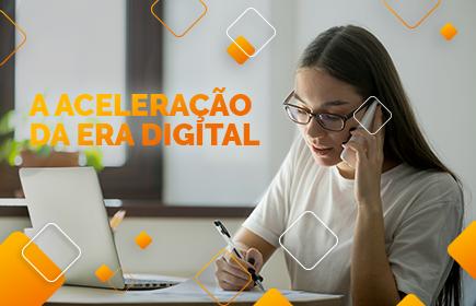 aceleração dos serviços digitais
