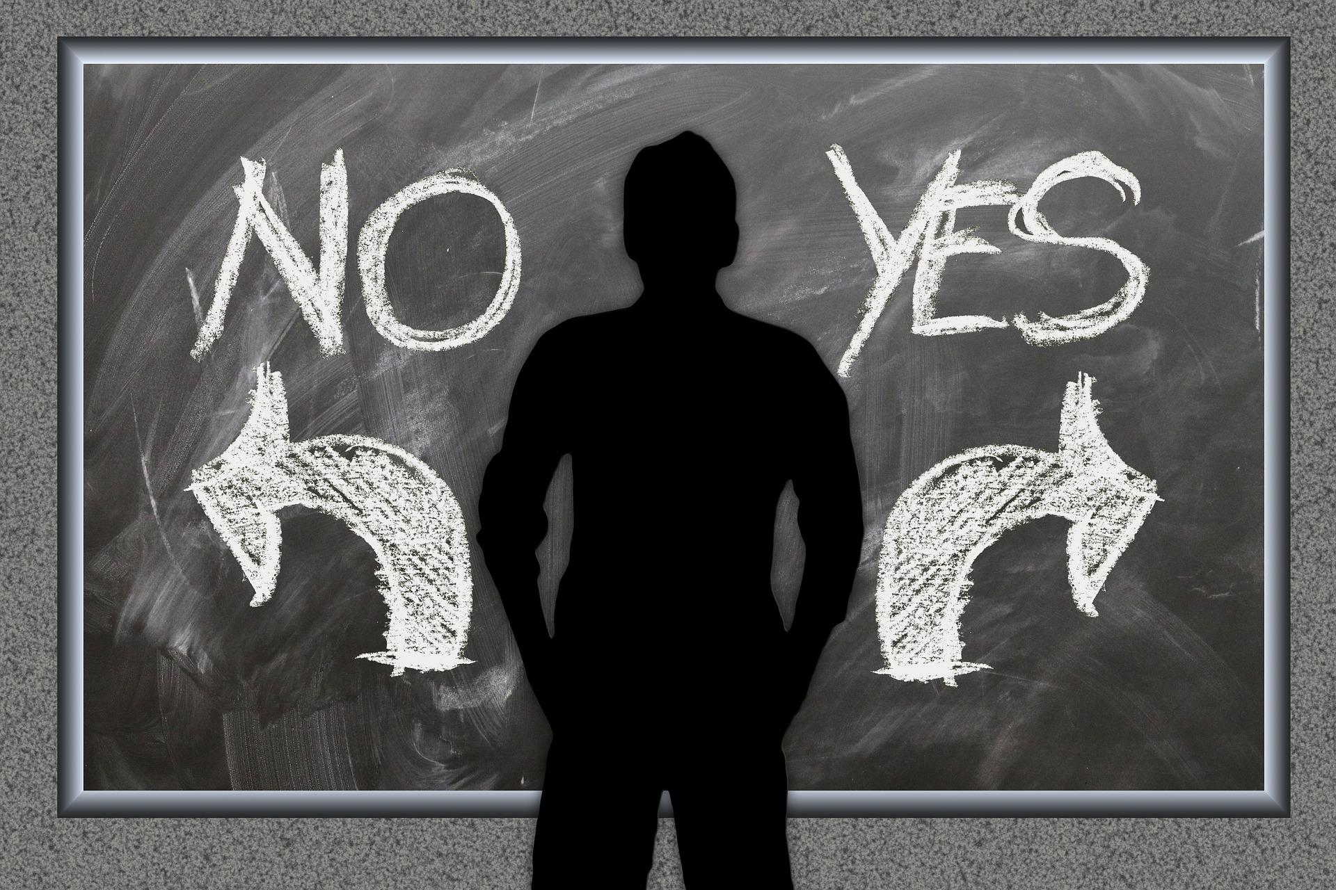 como posso aprender a dizer não