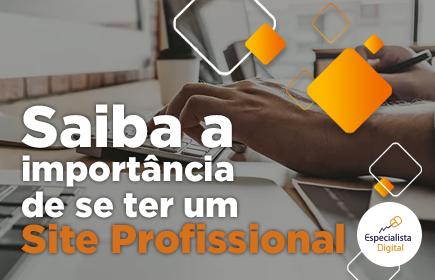 importância de se ter um site profissional